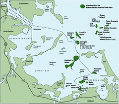 Boston Harbor Islands Map