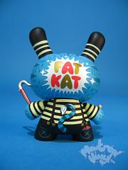 Kronk (dos) (montrealvinyl.com) Tags: kidrobot 2009 dunny series6 series2009