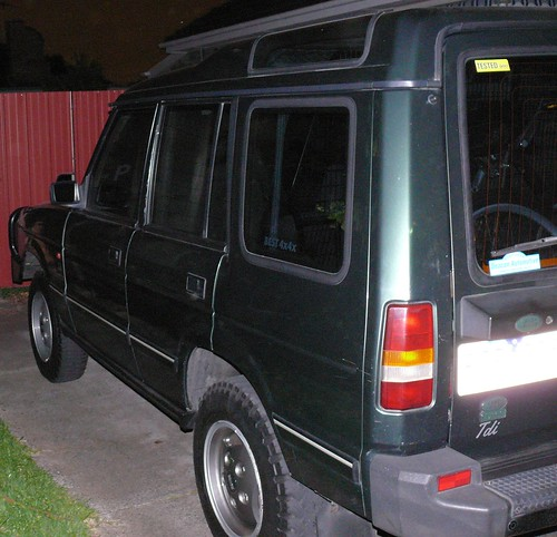 Land Rover Discovery 1992. I drive a 1992 Landrover