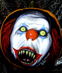 Pennywise Pumpkin Painting by Denise A. Wells (Denise A. Wells) Tags: slash red detail film halloween yellow movie design scary artwork funny acrylic grim clown pumpkins evil toothdecay creepy gore horror demon devil insanity macabre disturbing twisted stephenking pogo scaryclown grotesque evilclown frightful ghastly darkhumor thejoker dentalfloss paintedpumpkins pumpkinpainting pennywisetheclown halloweenfrightnight pumpkinpaintingideas pumpkinpaintings deniseawells tagyeritcom psychokillerclowns murderouspsychopaths coolhalloweenpumpkin uniquehalloweenpumpkins awesomehalloweenpumpkinpaintings masterpumpkinpainting handpaintedpumpkinart coolpumpkincenterpiece pumpkinartwork paintingonrealpumpkins colorfulpumpkinpaintings photosofpaintedpumpkin photosofpumpkinpaintings pumpkinpaintingphotos pumpkinpaintingpics howtopaintpumpkins howtomakeapumpkinpainting howtomakecoolpumpkinpaintings scarypumpkinart scarypumpkinpaintings coolpumpkinpaintinghorrorart spookyhalloweenpumpkins halloweenevilpumpkins reallyscaryhalloweenpumpkinart halloweenpumpkinskulls skullspaintedonhalloweenpumpkins amazingpaintedpumpkins stephenkingmovieit scarypennywisetheclown pumpkinpaintingdesigns creepypumpkinpaintings