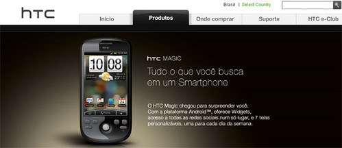 HTC MAGIC con HTC SENSE
