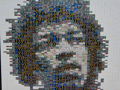 Hendrix (torgugick) Tags: tile lego mosaic hendrix woodstock jimi decorated