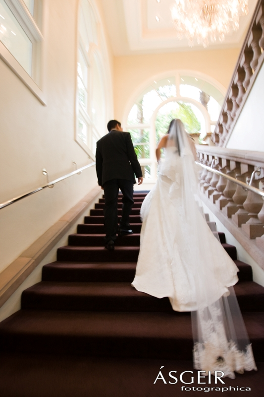 Ritz Carlton Laguna Niguel Wedding - Bride and Groom