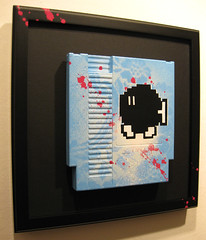 8Bits (Please Flush!) Tags: street urban stencils art classic computer painting for diy graphics brighton paint hand please sale framed nintendo 8 spray made mounted nes 8bit flush custom console bit markers bits cartridge customised
