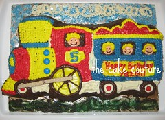 8. Train Cake (The Cake Couture (is currently not taking any orde) Tags: party cake train children chocolate vanilla  doha qatar                           thecakecouture