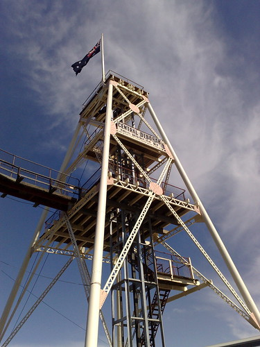Central Deborah mine, Bendigo