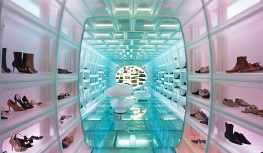 Futuristic Retail Design