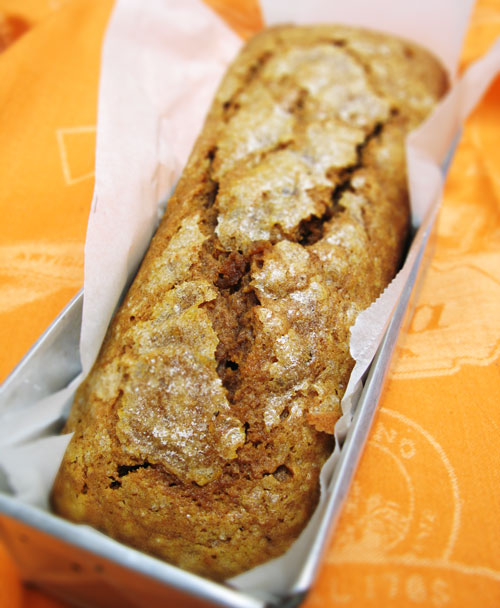 Pumpkin Tea Cake (whole)