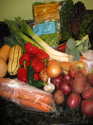 What's in CSA Box #12