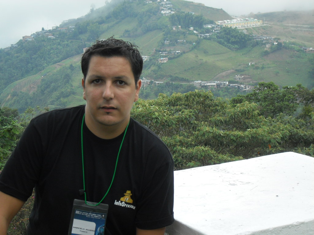 Marcelo Rivero de InfoSpyware en Colombia