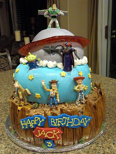 Jack's Toy Story Cake