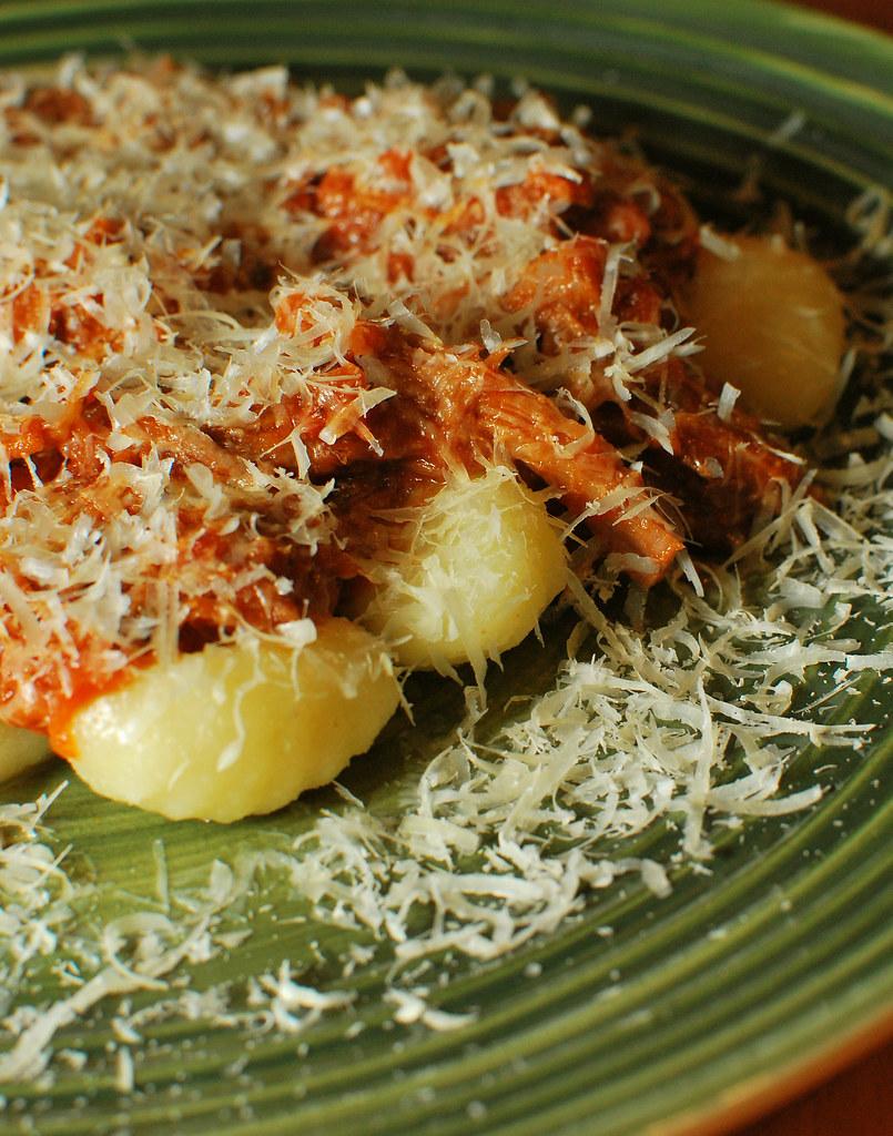 Gnocchi with Pork Shoulder Ragù