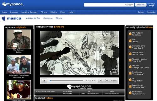 Myspace já não quer ser uma rede social mas sim um portal de música