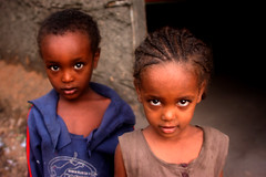 twins (LindsayStark) Tags: africa travel boy portrait people girl children child conflict ethiopia humanrights humanitarian humanitarianaid emergencyrelief waraffected conflictaffected gambella anawesomeshot
