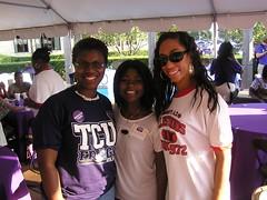 Yonina__Tam___Jamie (TCU Alumni Association) Tags: homecoming tcu baa 2007