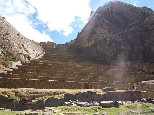 ruinas de Ollantaytambo