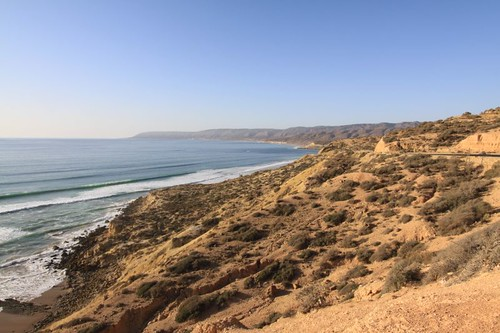 Another great slice of Atlantic coast north of Agadir...