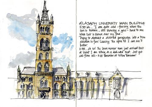 Day12_04 Glasgow Uni Main Building