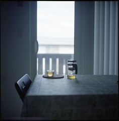 (Inside_man) Tags: stilllife 120 6x6 tlr film home colors rolleiflex mediumformat tea bokeh teapot teacup fuji400h
