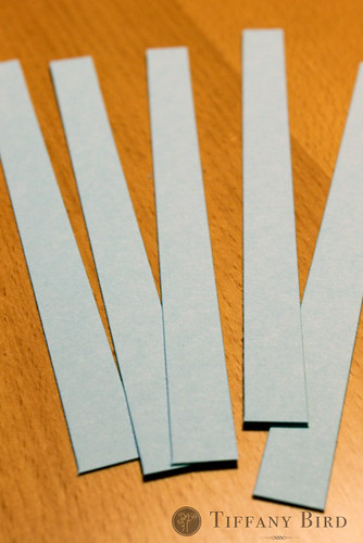 twirly snowflake strips