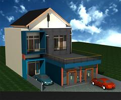 Desain-Rumah-Tinggal-2-Lantai by Indograha Arsitama Desain & Build