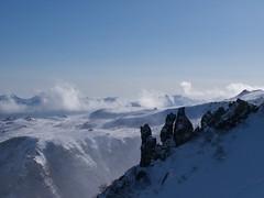 東大雪の山並み