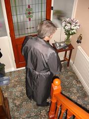 87b (Silver Linings) Tags: mac rubber raincoat rainwear rubberised
