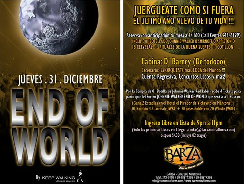 End Of World - Barza