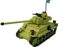 Israeli M50 Super Sherman (Bruno Vaiano) Tags: lego military israeli sherman m50