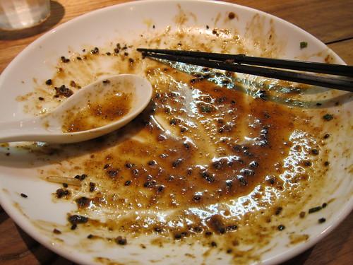 蒼龍唐玉堂、正宗担々麺