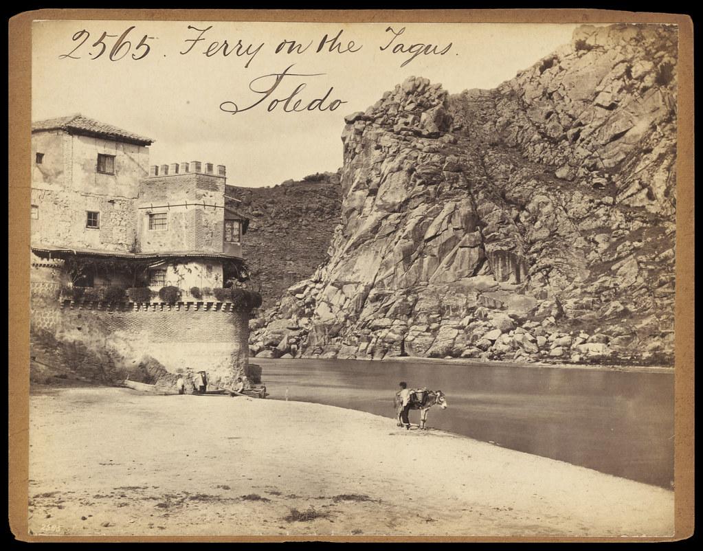Casa del Diamantista de Toledo hacia 1860. Fotografía de Francis Frith