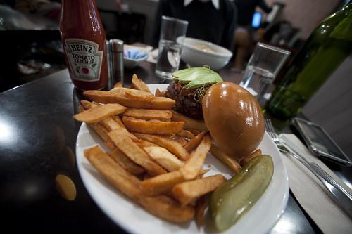 House Vegetarian Burger-Freidman's Lunch