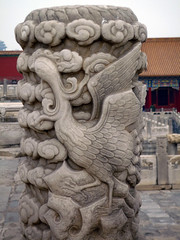 Forbidden City Crane Post