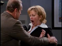 Frasier Crane harasses Julia Wilcox