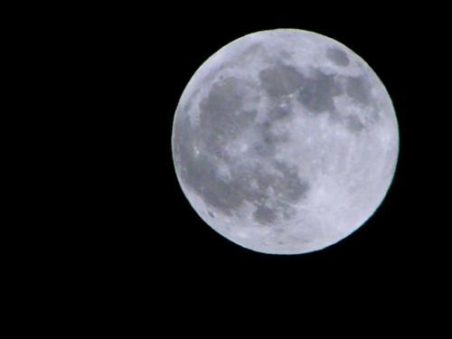 Last moon of 2009