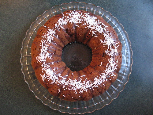 Persimmon Ginger Cake