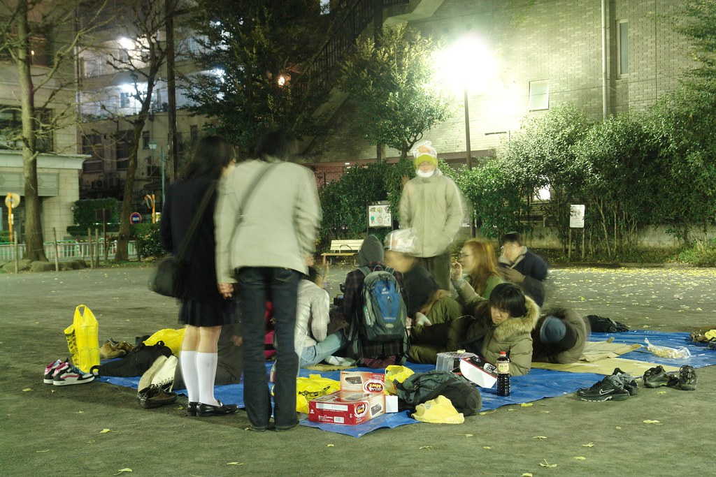 """Hametsu nabe"" at Hourin park, Akihabara."
