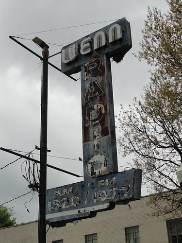 WENN Radio Sign, Birmingham AL