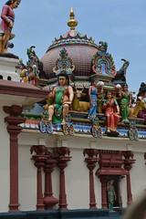 Sri Mariamman Temple Vimana (The Puzzler) Tags: sculpture architecture temple singapore statues dome hindu sculptures dravidian kovil kuil srimariammantemple vimana    agamic
