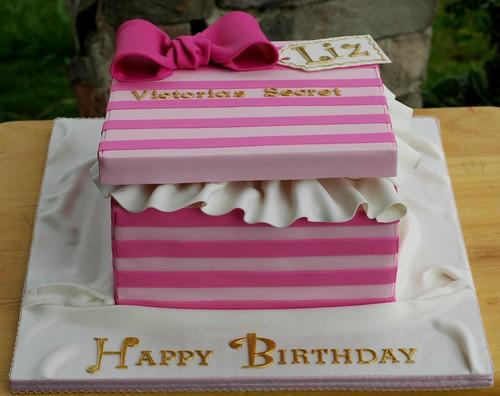 gift box cake designs. Victoria#39;s Secret Gift Box