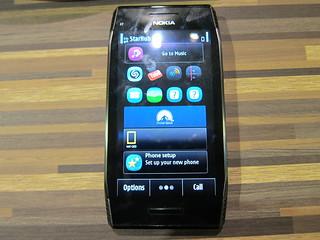 Nokia X7  Blogger Preview