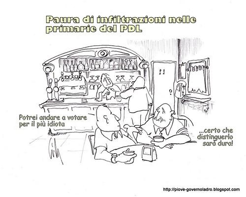 Paura di infiltrazioni nelle primarie del PDL by Livio Bonino