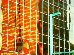 "Abstract reflections in glass (peggyhr) Tags: light orange white canada abstract glass lines yellow buildings reflections gold edmonton shadows streetlamp turquoise patterns olive sienna alberta showroom reflexions soe musictomyeyes engineeringasart linescurves topshots fineartgallery peggyhr flickrbronzeaward heartawards dazzlingshots shining★star peaceawards thebestshot ♡beautifulshot♡ vanagrammofontheoldgramophone thedigitographer 100commentgroup grouptripod photographerparadise artofimages angelawards ""flickraward pegasusaward bestpeopleschoice mygearandme artwithoutend flickrsportal lomejordemisamigos ringexcellence nossasvidasnossomundoourlifeourworld avpa1maingroup chariotsofartists blinkagainforinterestingimages ►thebestshots◄ p1320651ap"