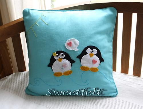 ♥♥♥  Fresquinha como os  pinguins gostam... by sweetfelt \ ideias em feltro