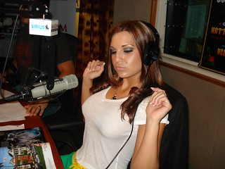 Hometown braless Nussie Daisy Daniels on The Covino & Rich Show