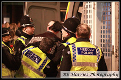 Wales vs England Rugby Day (BB Harries Photography) Tags: heddlu hats policehats policehat helmet policehelmet policehelmets helmets handcuffs walesvsenglandrugbysixnations rugby sixnations rugbysixnations walesvsengland southwales cardiffcity documentaryphotography documentary photograph photography photo officer policeofficer policewomen policeman cage can policevan restrained restrain arrested arrest cardiffcitycentre cardiff criminal prisoner southwalespolice britishpolice police