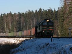 2M62-0720_VTII_101km (ЕгорЖуравлёв) Tags: locomotive 2m62 latvia latvija ldz 2017 winter railway локомотив поезд латвия 2м62 зима железнаядорога 0720