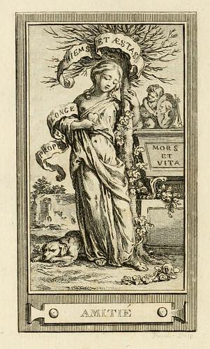 003- Amistad-Iconologie par figures-Gravelot 1791