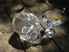 Crystal Head Vodka (Cunning Stunt) Tags: glass skull bottle drink olive martini liquor alcohol booze vodka crystalheadvodka crystalhead