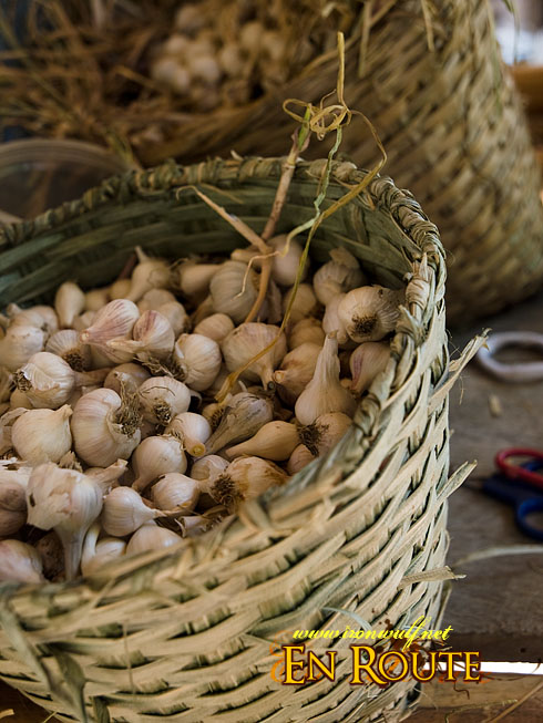 Buhid Mangyan Garlic Basket